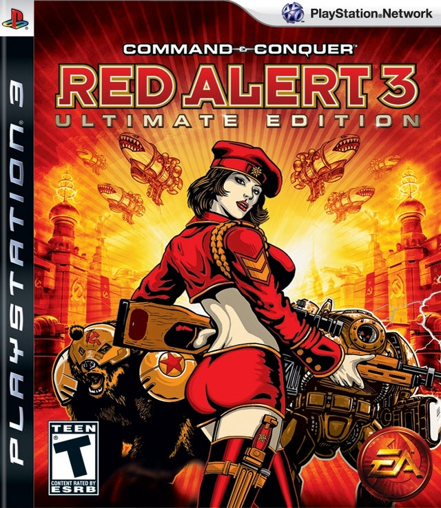 Command & Conquer Red Alert 3 - Playstation 3 Pre-Played