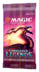 Commander Legends Collector Booster Pack - Magic the Gathering