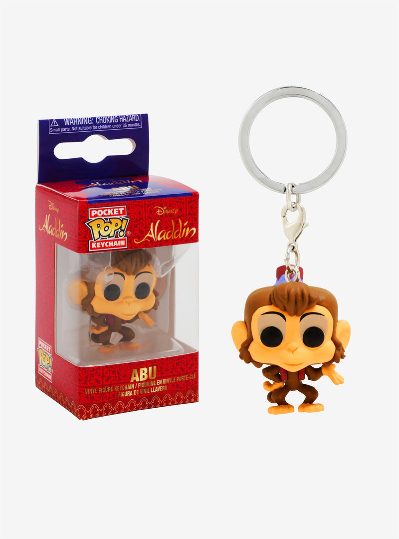Pocket Pop! Keychain: Disney Aladdin - Abu