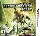 Assault Horizon Legacy Nintendo 3DS Front Cover