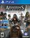 Assassin's Creed Syndicate Playstation 4 Front Cover