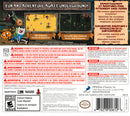 Adventure Time Explore the Dungeon Because I Don't Know 3DS Back Cover