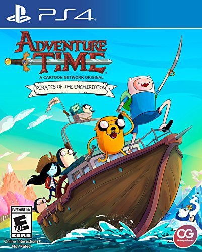 Adventure Time Pirates of the Enchiridion Front Cover