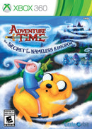 Adventure Time The Secret of the Nameless Kingdom Xbox 360 Front Cover