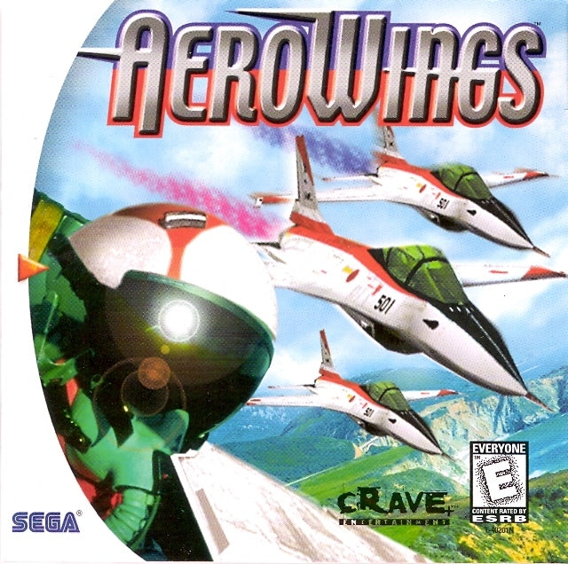 Aerowings Sega Dreamcast Front Cover