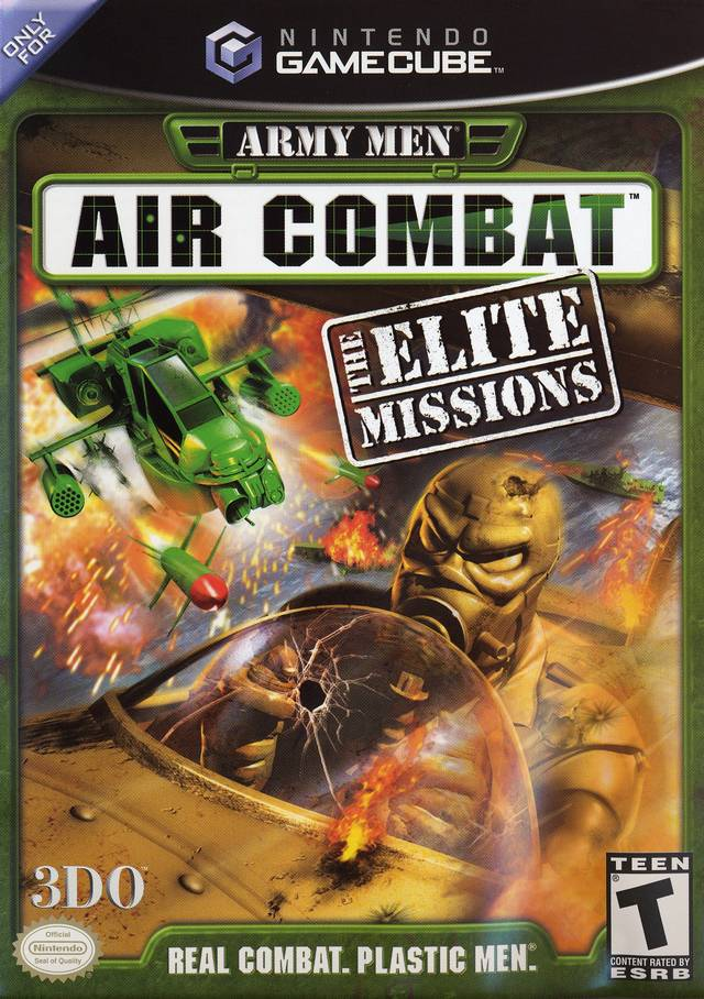 Army Men Air Combat Elite Nintendo Elite Front Cover