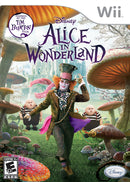 Alice in Wonderland Wii Front Cover