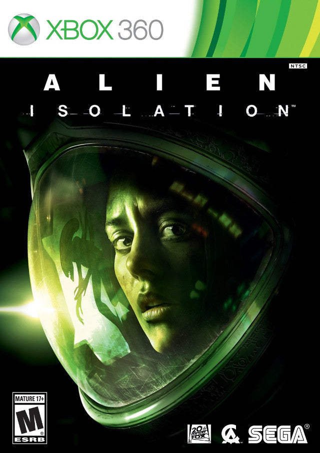 Alien Isolation Xbox 360 Front Cover