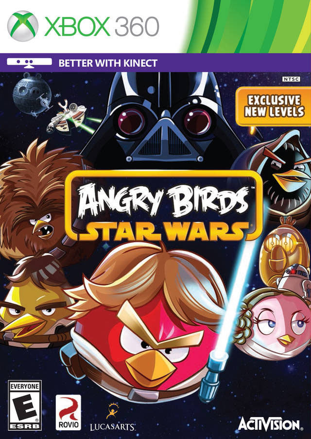 Angry Birds Star Wars Xbox 360 Front Cover