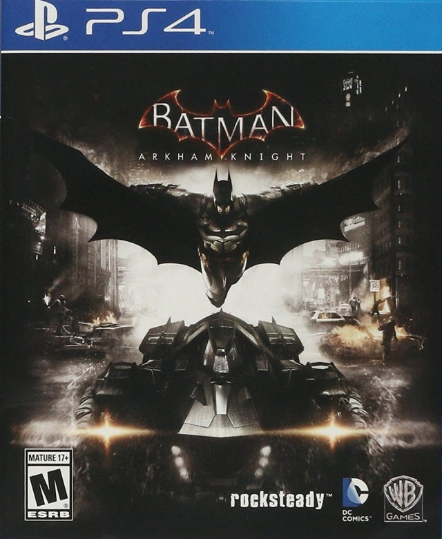 Batman Arkham Knight Playstation 4 Front Cover