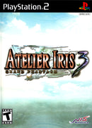 Atelier Iris 3 Grand Phantasm Playstation 2 Front  Cover