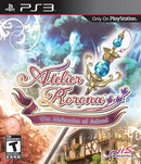 Atelier Rorona The Alchemist of Arland Playstation 3 Front Cover