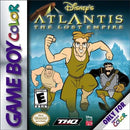 Atlantis The Lost Empire Nintendo Gameboy Color Front Cover
