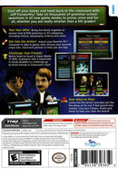 Are You Smarter Than a 5th Grader: Back to School Nintendo Wii Back Cover