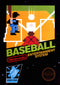 Baseball Nintendo Entertainment System NES Front Cover