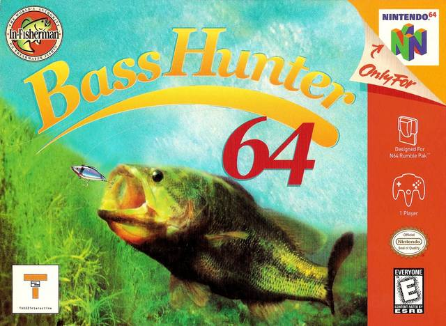 Bass Hunter 64 Nintendo 64 Front Cover