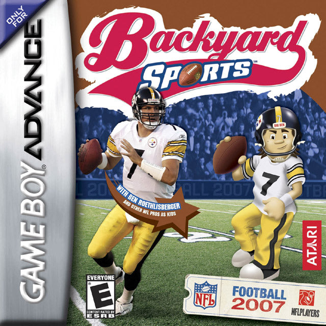 Backyard Sports Football 07 Nintendo Gameboy Advance Front Cover