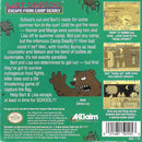 Bart Simpson Escape From Camp Deadly Gameboy Back Cover