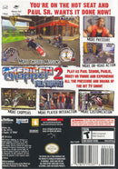 American Chopper 2 Full Throttle Gamecube Back Cover
