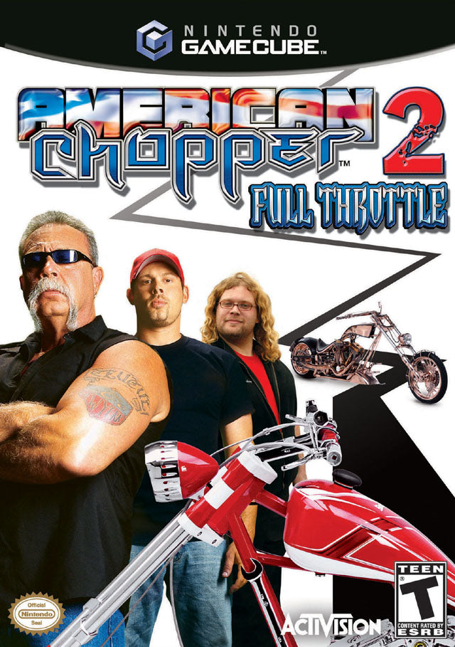 American Chopper 2 Full Throttle Gamecube Front Cover