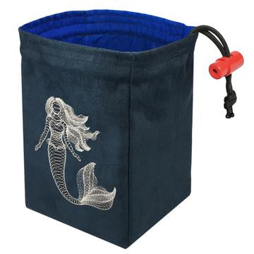 Glow in the Dark Dice Bag - Dimensional Mermaid