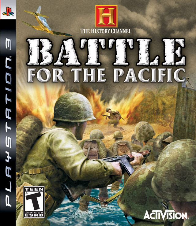 Battle For the Pacific Playstation 3 Front Cover