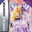 Barbie Magic of Pegasus Nintendo Gameboy Advance Front Cover