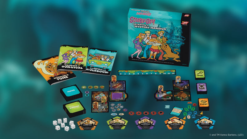 Scooby-Doo! Betrayal at Mystery Mansion - Contents