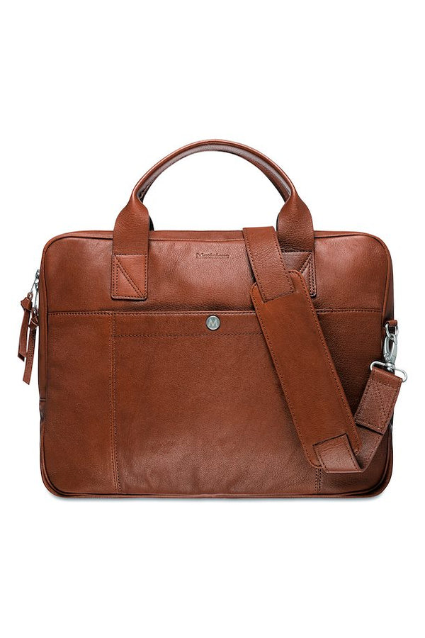 Commuter leather bag