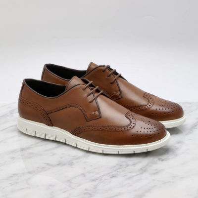 Sport brogue cognac