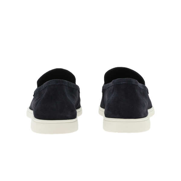 Loafer suede navy