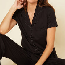 Load image into Gallery viewer, Cosabella Bella Short Sleeve Top + Pant PJ Set - size S left!