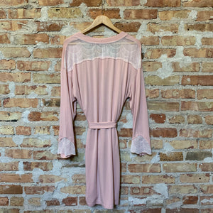 Vanilla Night and Day Dusty Pink Robe
