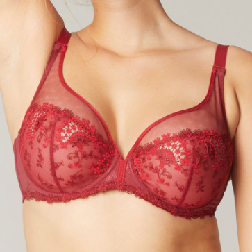 Simone Perele Wish Sheer Plunge - 30F, 30G, 34G, 36F in store, others by special order!