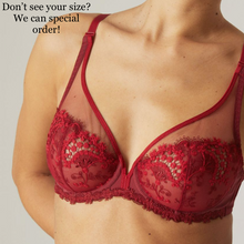 Load image into Gallery viewer, Simone Perele Wish Sheer Plunge - 30F, 30G, 34G, 36F in store, others by special order!