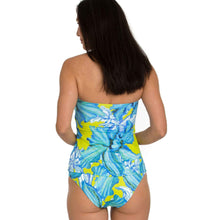 Load image into Gallery viewer, Tara Grinna Asymmetrical Print Tankini Top (Multiple Prints!)