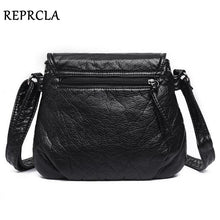 Load image into Gallery viewer, Women Messenger Soft PU Leather Shoulder Bag