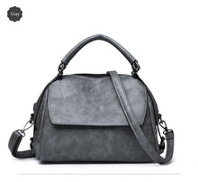 Load image into Gallery viewer, Ladies Vintage Leather Female Crossbody Bag