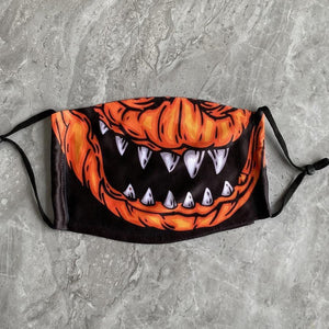 👻HALLOWEEN FABRIC FACE COVER - 05