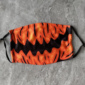 👻HALLOWEEN FABRIC FACE COVER - 06