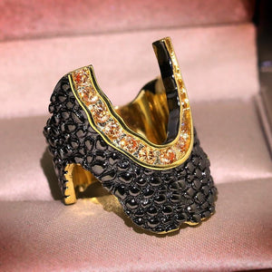 Blackscale Ring