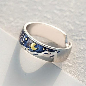 Van Gogh's Starry Sky Ring