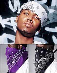 6/12 Pack Magic Headband Seamless Headwear Bandana Scarf Headwrap Neck Gaiter For Men Women