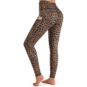 High Waist Yoga Pants with Pockets Leggings for Women
