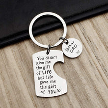 Load image into Gallery viewer, Stainless Steel Keychain for Father Mother