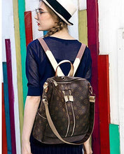 Load image into Gallery viewer, Fashion Leather Backpack Casual Purse for Women