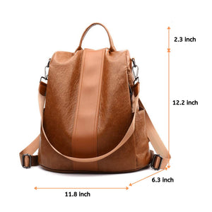 Ladies Anti-theft Backpack Bag Casual Wild Shoulder Bag