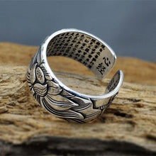 Load image into Gallery viewer, Lotus Mantra Ring