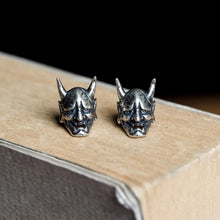 Load image into Gallery viewer, Hannya Mask Earrings
