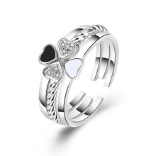 Load image into Gallery viewer, New three-in-one silver jewelry (adjustable size)